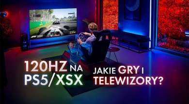 120 Hz gry telewizory konsole PlayStation 5 PS5 Xbox Series X