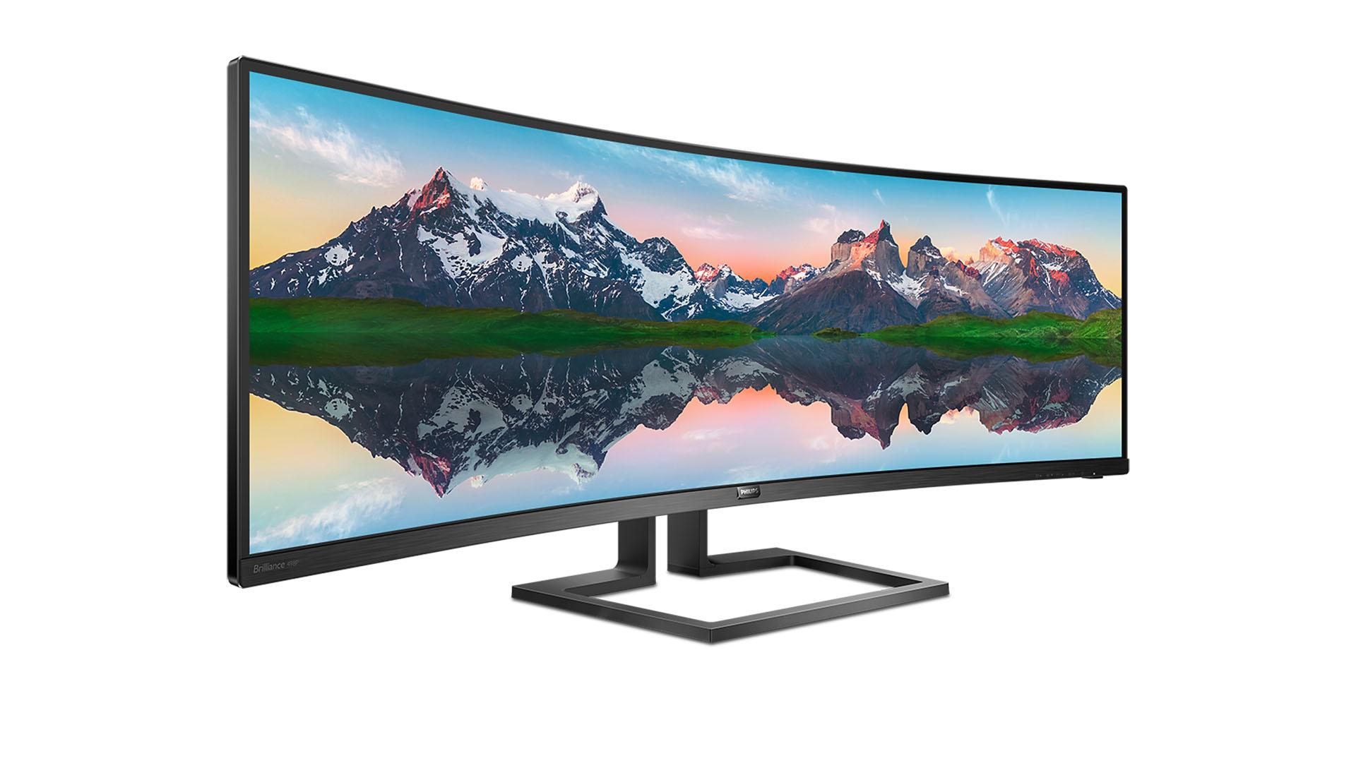Czy dwa monitory w jednym mają sens? Philips twierdzi że tak i prezentuje 49-calowy model Dual Quad HD 32:9