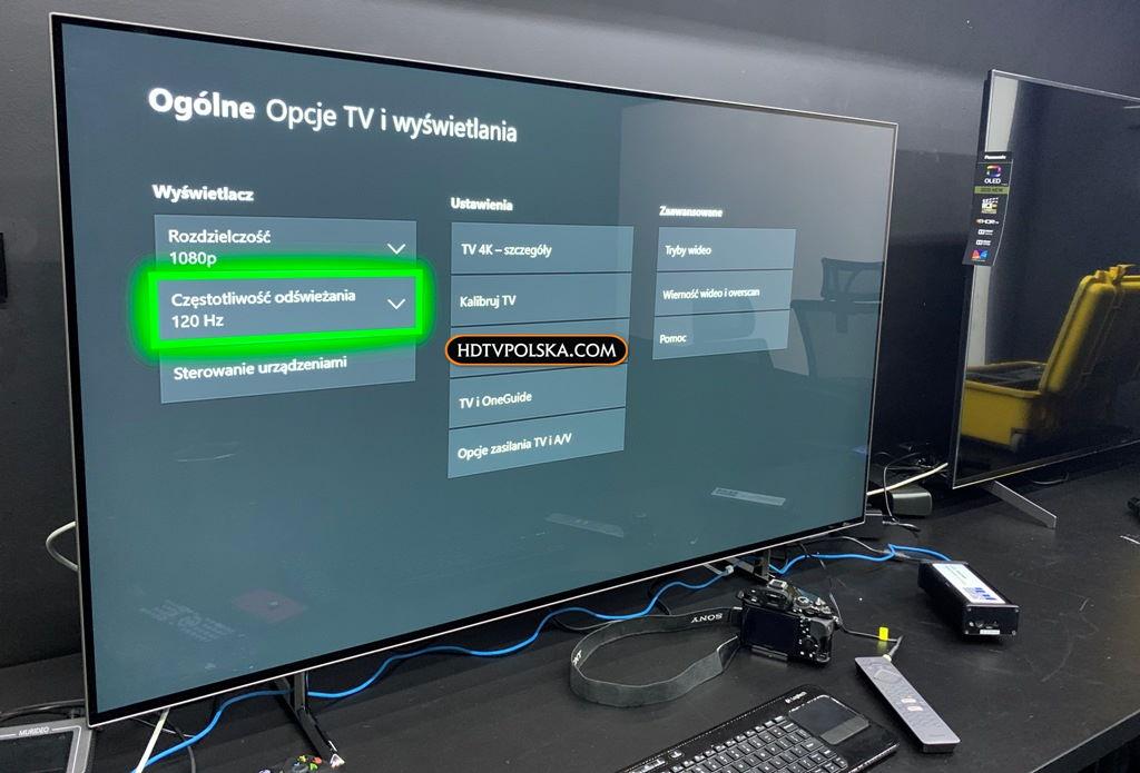 Granie w Full HD 120Hz Xbox One X
