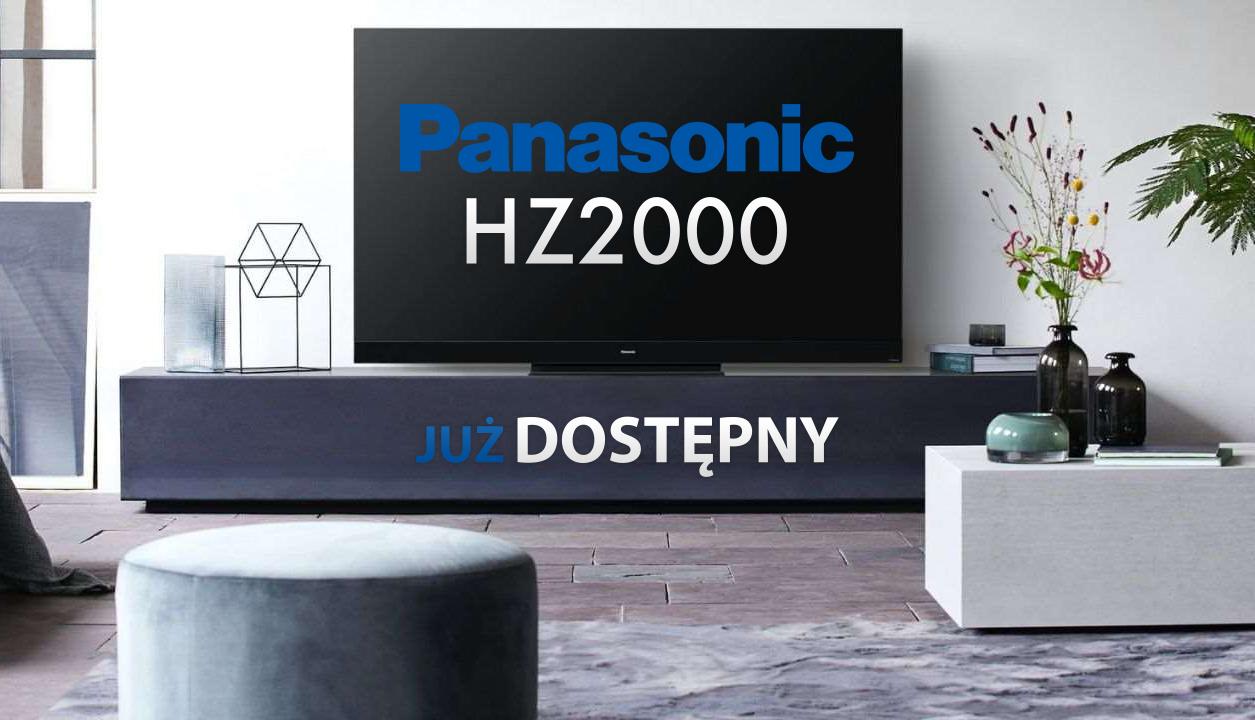 Panasonic HZ2000: nowy flagowy telewizor OLED producenta debiutuje w Polsce! Ile kosztuje i gdzie kupić?