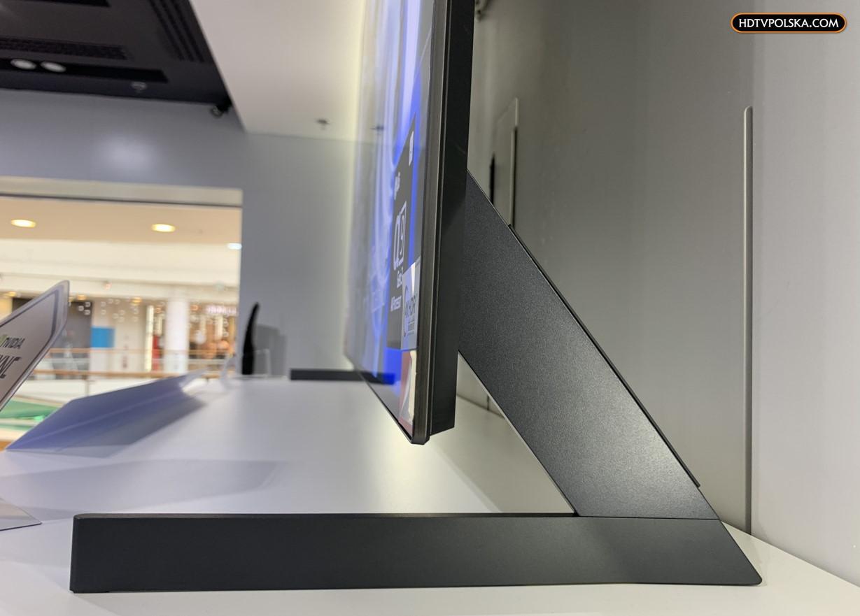 LG OLED GX test podstawa nóżki na telewizorze 2
