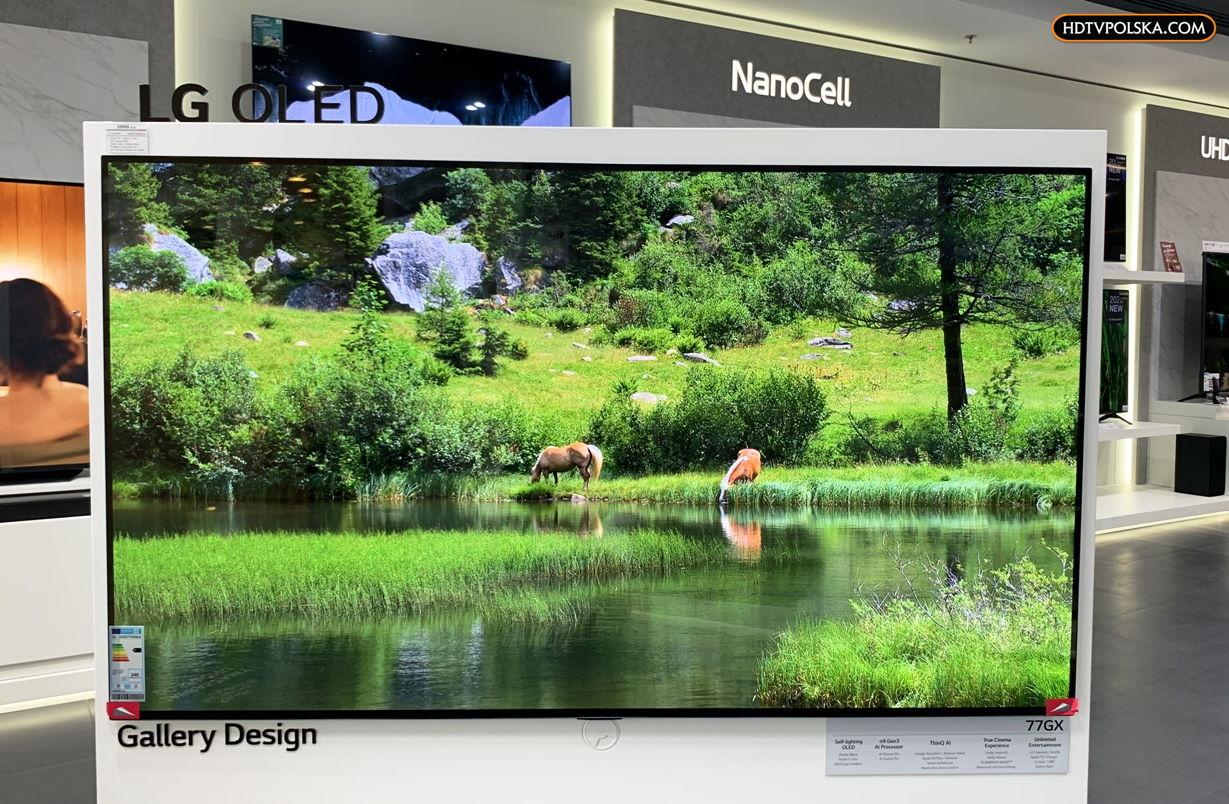 LG OLED GX w Brand Store LG
