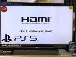 Promocja telewizor Sony XH90 HDMI 2.1 PlayStation 5