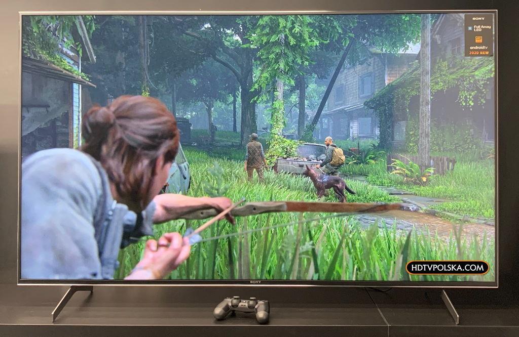 Telewizor do konsoli Sony XH90 HDMI 2.1 gry