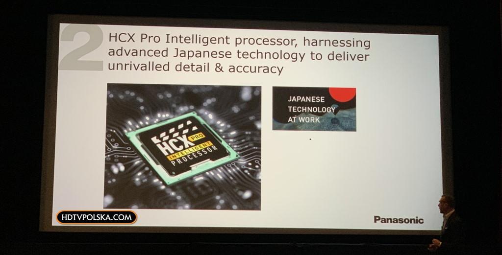 Test OLED Panasonic ZH2000 Procesor HCX