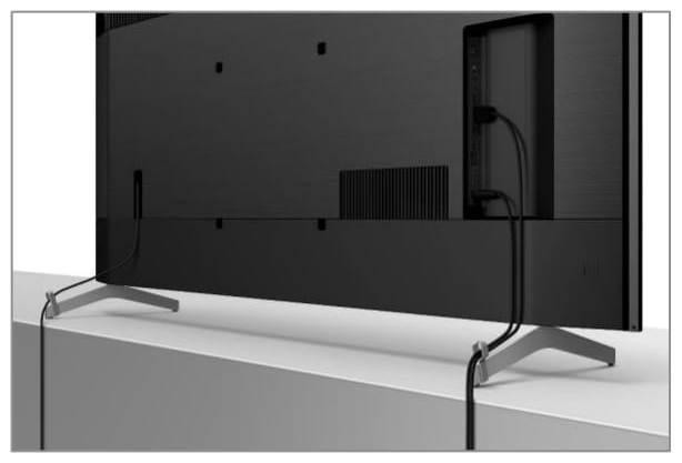 Test Sony XH90 telewizor kable