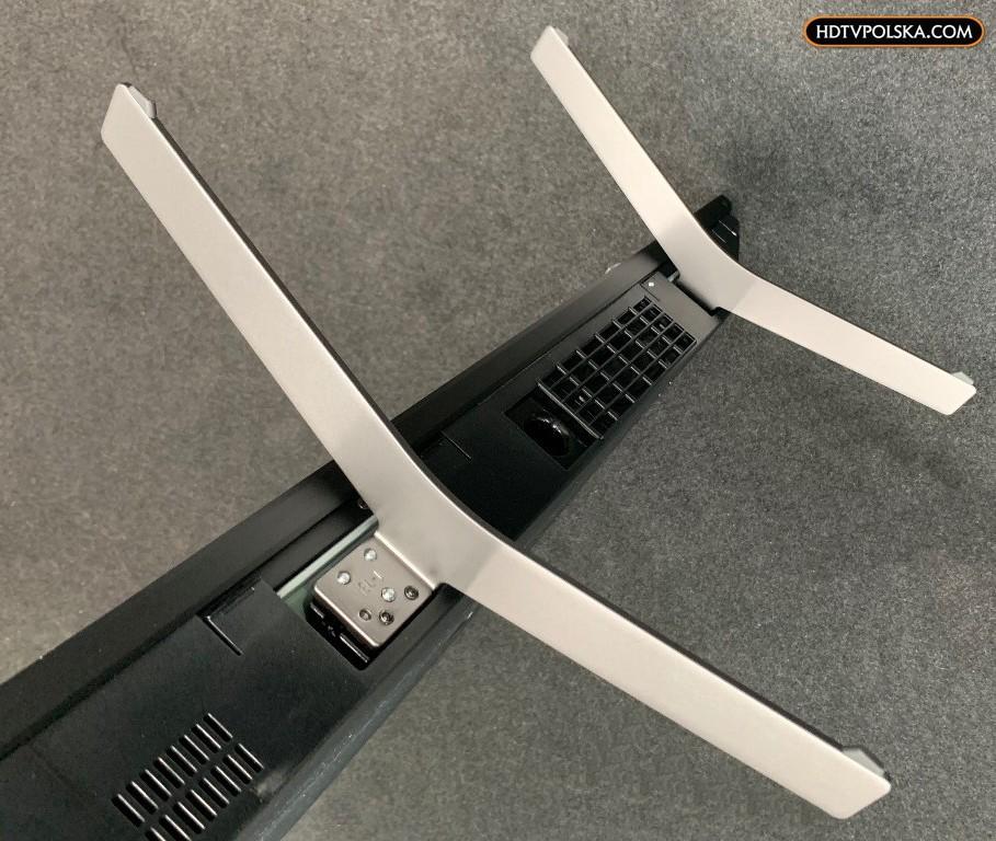 Test Sony XH90 telewizor nóżki