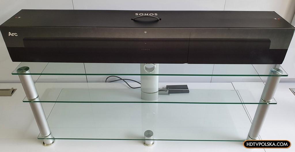 Test soundbar sonos arc dolby atmos pudło 1