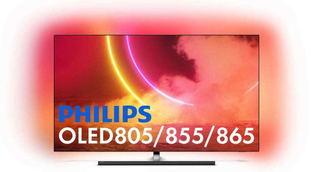 Test zapowiedź Philips OLED 805 855 865 main