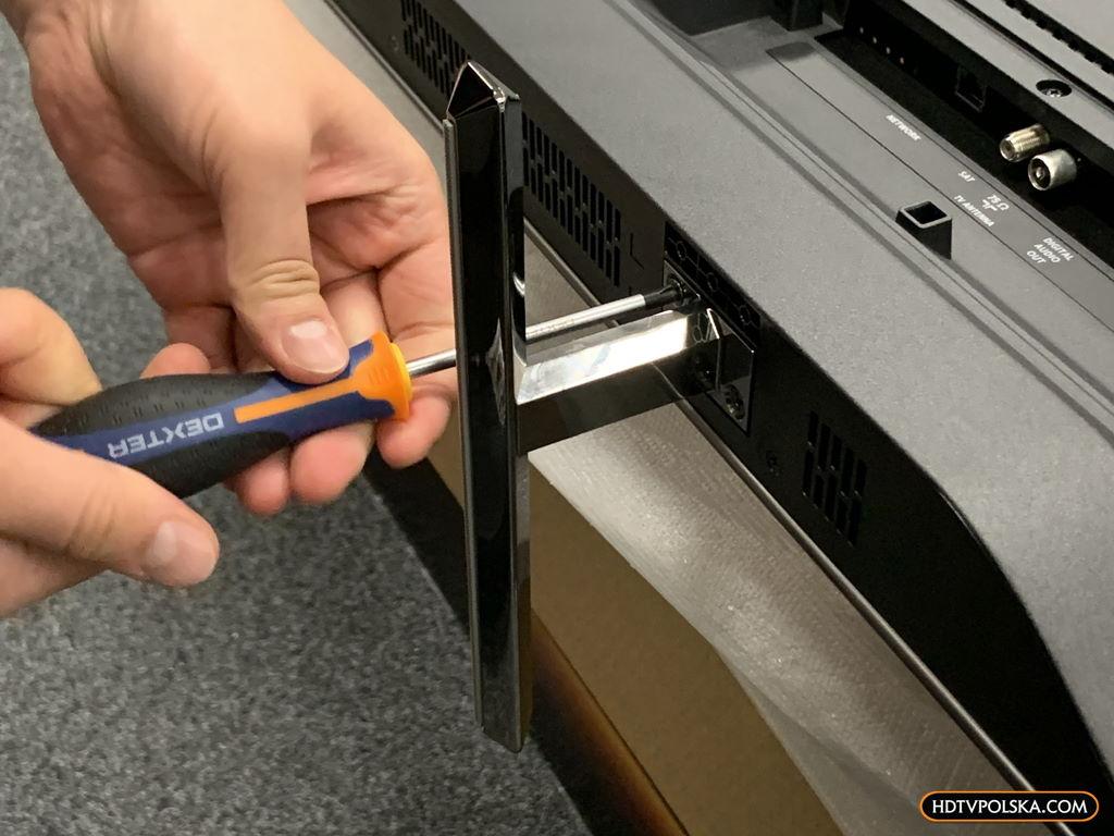 Test zapowiedź Philips OLED 805 855 865 podstawa soundbar