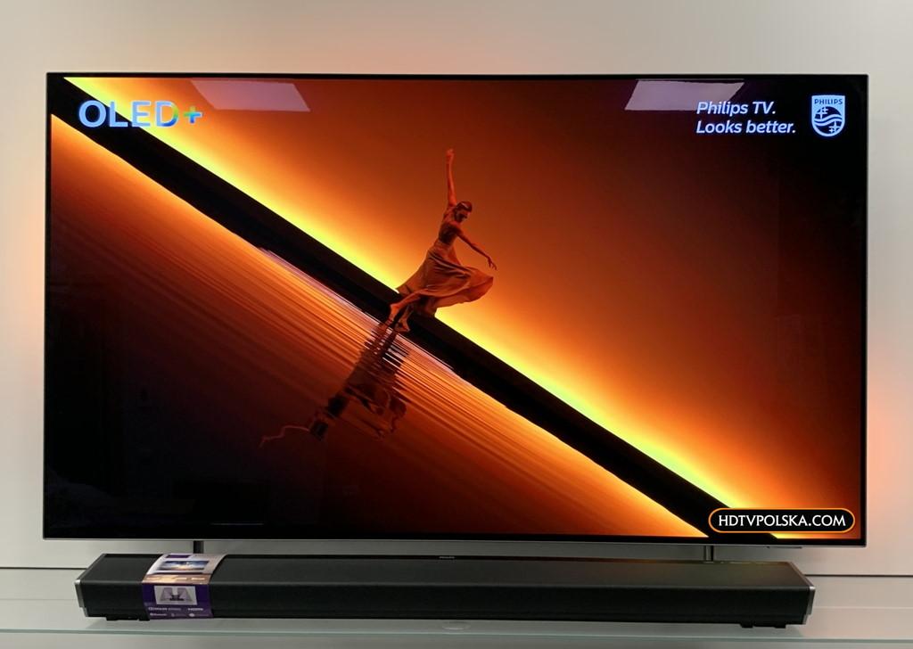 Test zapowiedź Philips OLED 805 855 865 soundbar