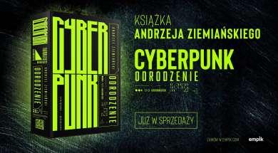 Cyberpunk. Odrodzenie powieść Andrzej Ziemiański