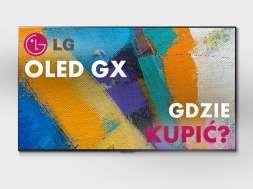 LG GX Gallery Design telewizor sklep cena dostępność sprzedaż Media Expert