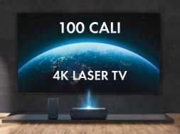 Hisense LASER TV 100 cali