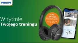 Promocja dla aktywnych! Sportowe słuchawki Philips z darmowym dostępem do aplikacji Anny Lewandowskiej!