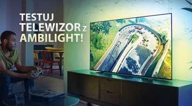 Philips Ambilight telewizor promocja