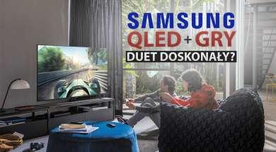 Samsung QLED gry telewizory 2020
