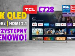 tcl c728 telewizor QLED 4K test okładka
