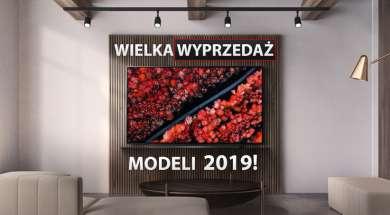 Telewizory 2019 promocja ostatnie sztuki RTV Euro AGD wyprzedaż