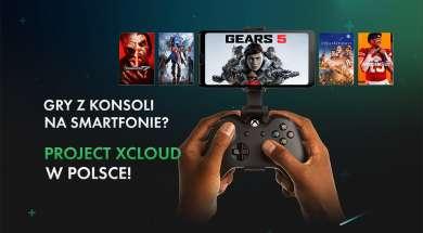 Microsoft Xbox Project xCloud konsola gry streaming chmura