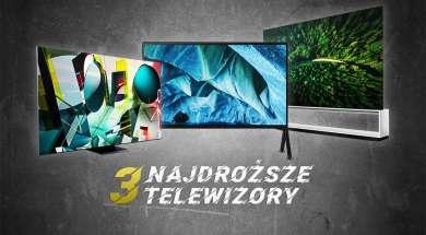 3 najdroższe telewizory 8K