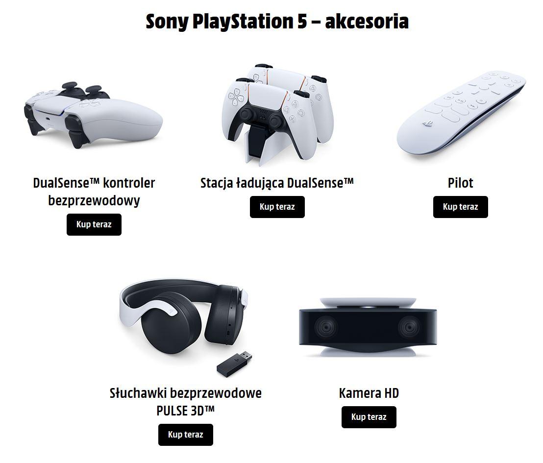 Akcesoria PS5