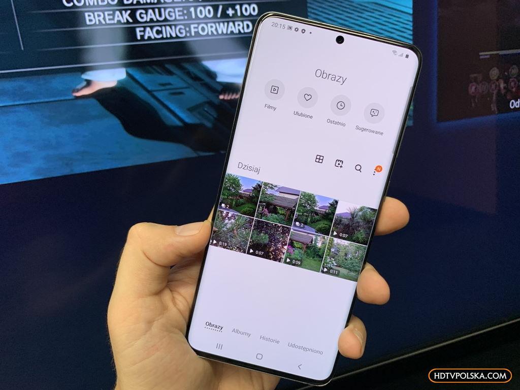Aplikacja SmartThings Samsung QLED Q950TS 8K zdjecia