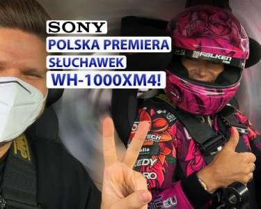 Premiera słuchawek Sony WH-1000XM4 ANC Drift 4