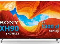 Promocja Sony XH90 Sony Centre 65 calo urodziny 2