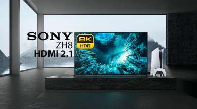 Telewizor Sony ZH8 8K do grania PS5 Xbox series X NVIDIA RTX 3090