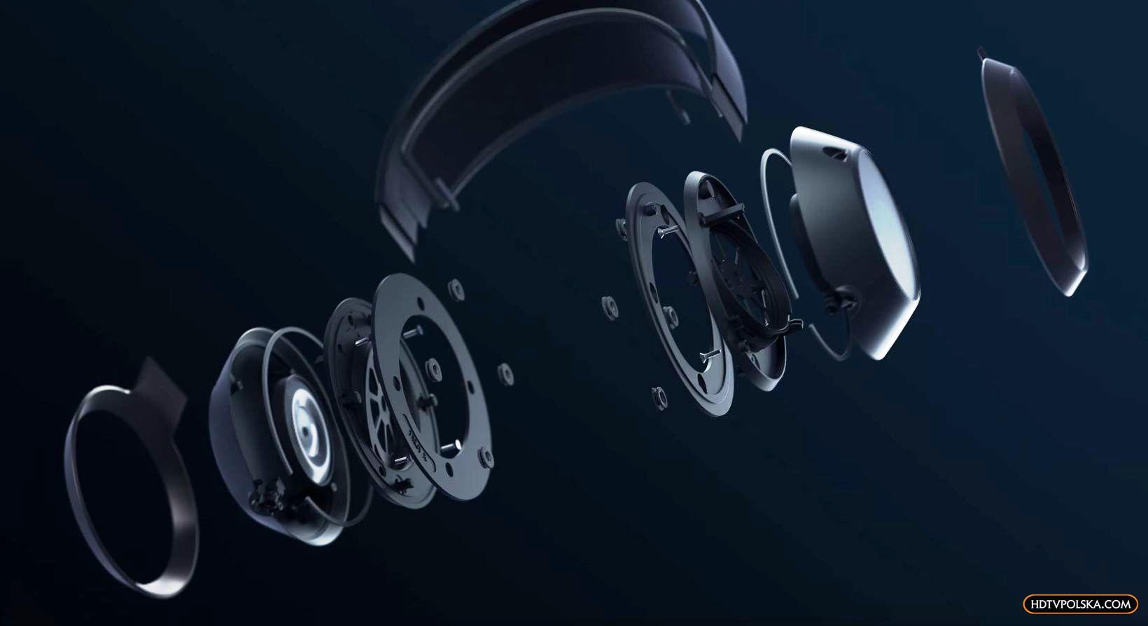 Test słuchawki Philips Fidelio X3 budowa muszli