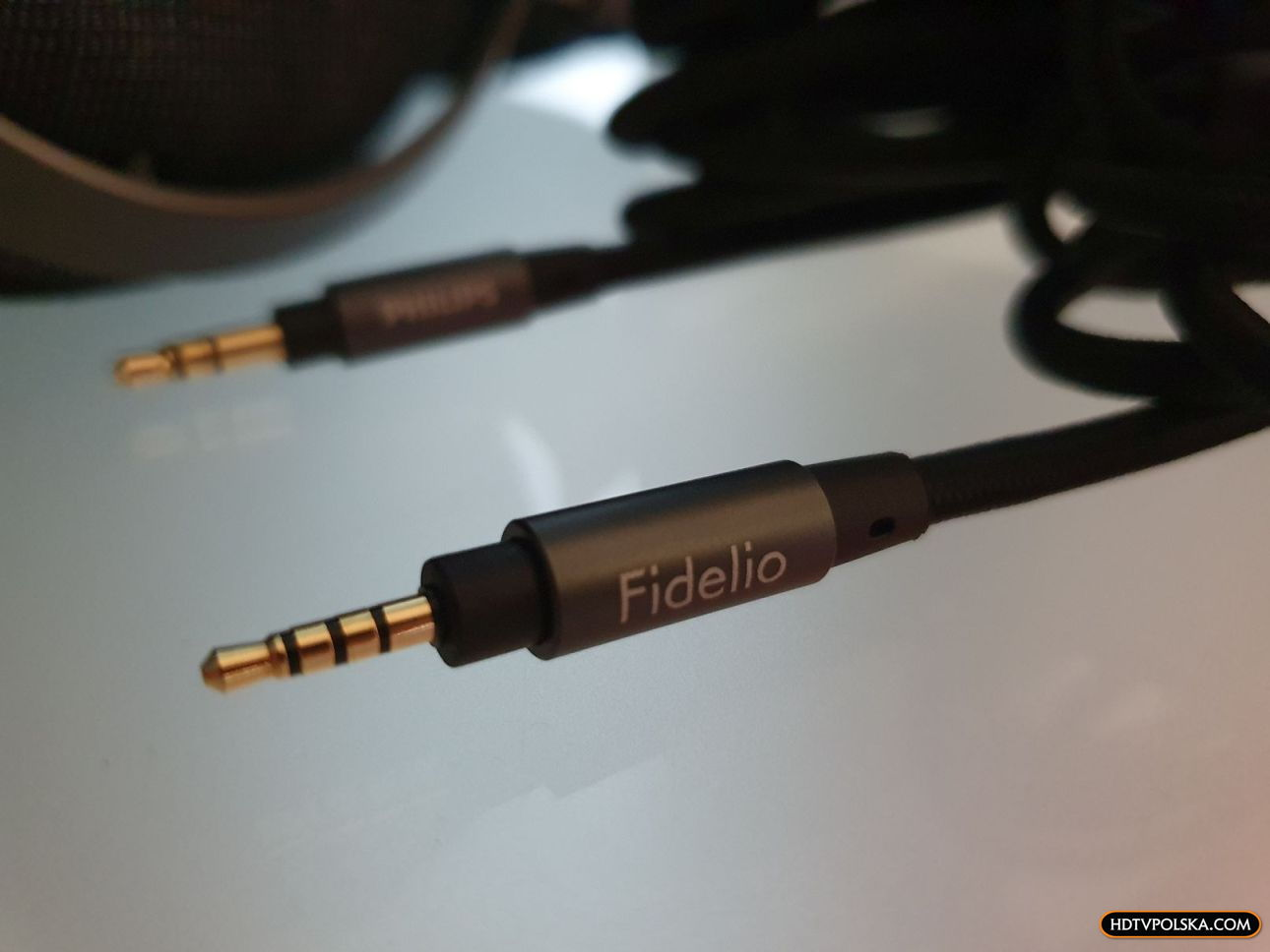 Test słuchawki Philips Fidelio X3 kable 1