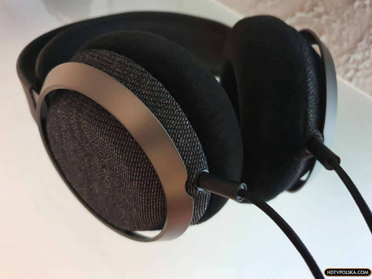 Test słuchawki Philips Fidelio X3 kable 2