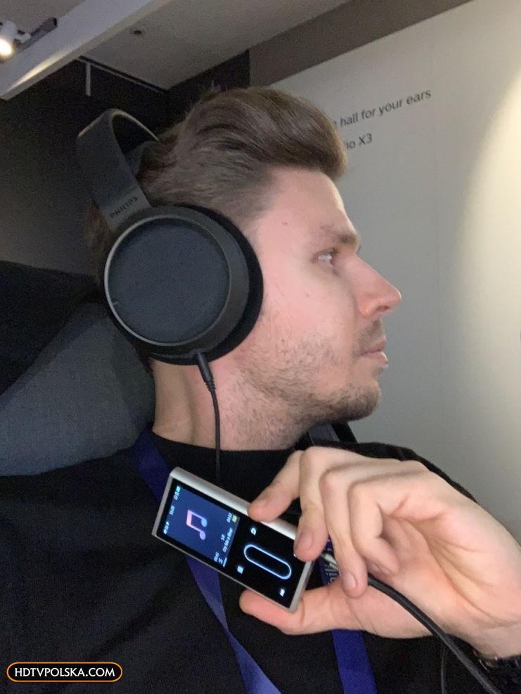 Test słuchawki Philips Fidelio X3 odsłuch 5