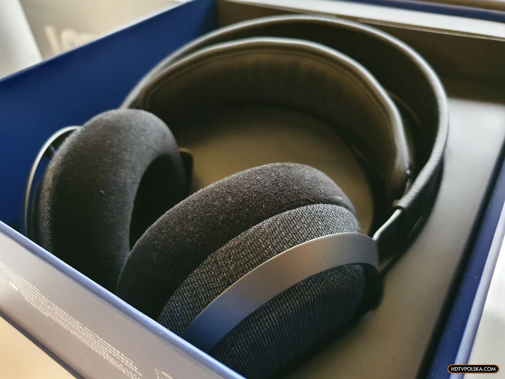 Test słuchawki Philips Fidelio X3 pudło wygląd