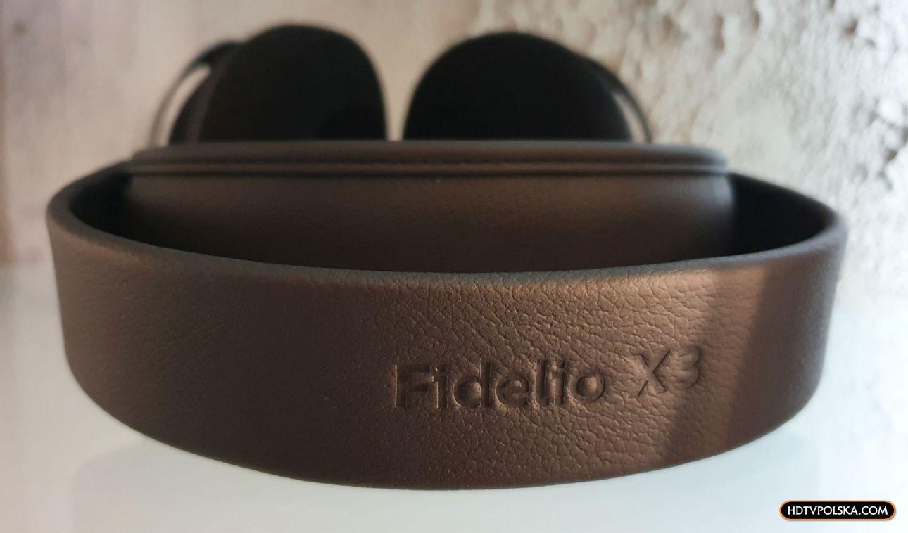 Test słuchawki Philips Fidelio X3 skóra