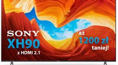 Sony 4K LCD XH90 HDMI 2.1 telewizor