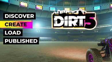 DiRT 5 Playgrounds
