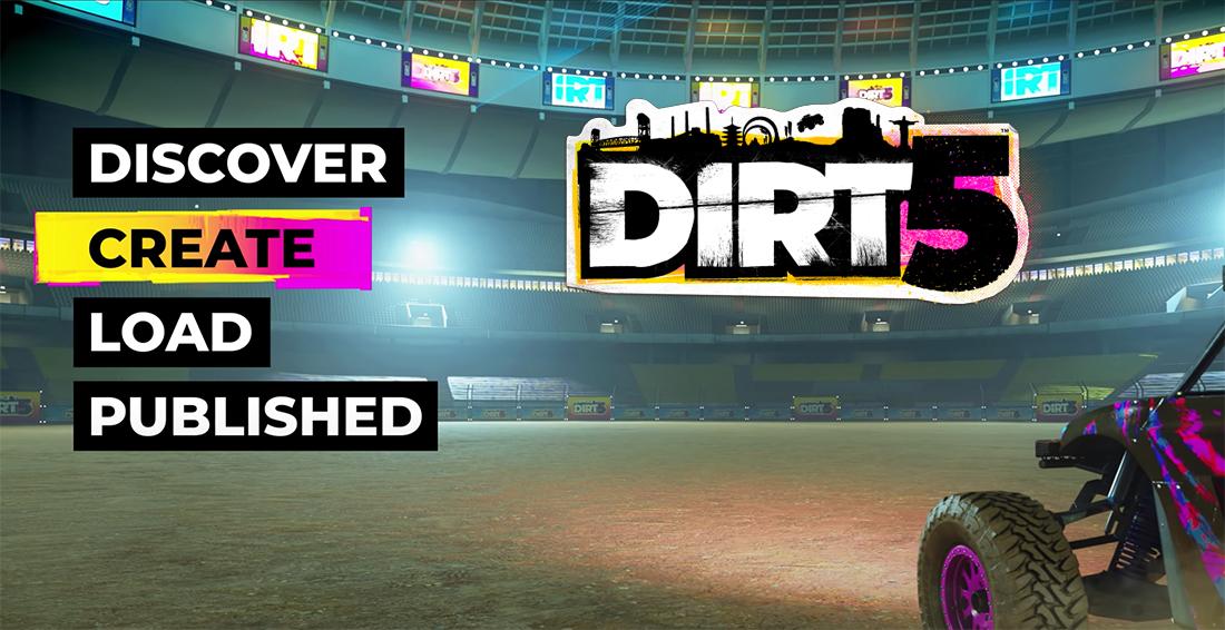 DIRT 5 Playgrounds na PS5 i XSX: sprawdziliśmy tryb tworzenia własnych torów w grze. To piaskownica kreatywności!