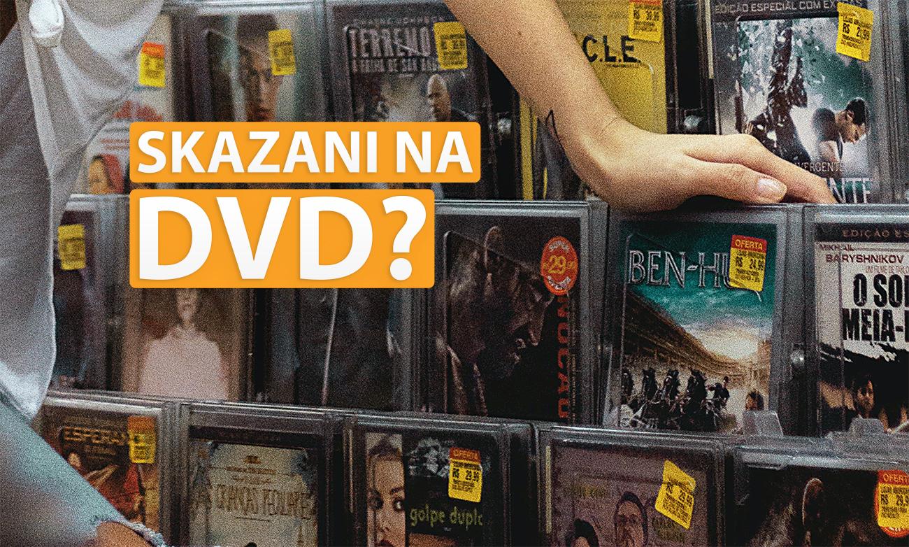 DVD nadal rządzi! Zdziwieni? Prawie nikt nie kupuje filmów na dyskach 4K Ultra HD Blu-ray