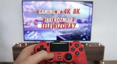 Gaming 4K 8K telewizor kontroler