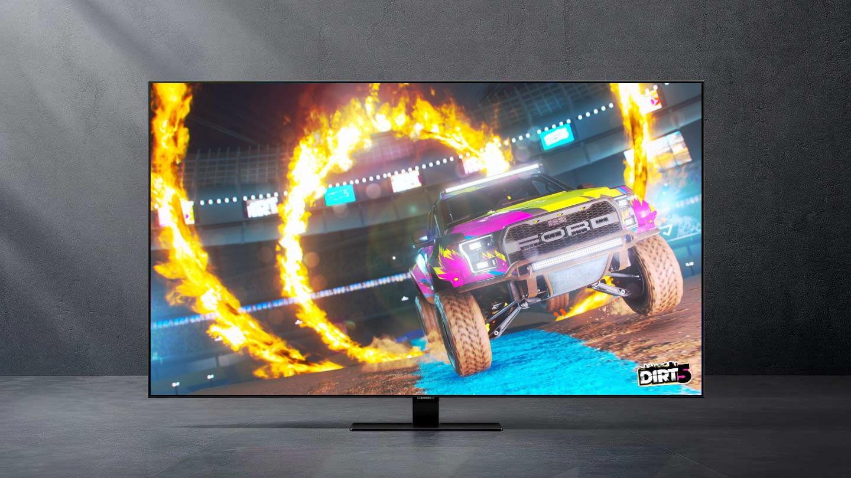 jaki kupić telewizor do Playstation 5 i Xbox Series X S Samsung QLED Q80T