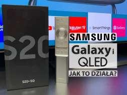 jak dziala samsung qled 8k q950ts z smartfon galaxy s20