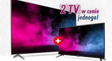 Media Expert promocja akcja drugi telewizor gratis w zestawie