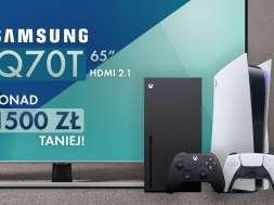 Samsung QLED Q70T promocja Media Expert