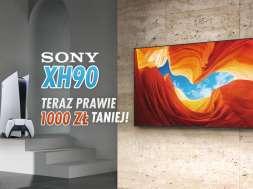 Sony 4K LCD XH90 telewizor HDMI 2.1 PS5 promocja