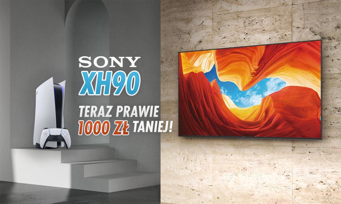 Sony XH90 65″ do PS5 w rekordowo niskiej cenie w zestawie z drugim produktem! Prawie 1000 złotych taniej – jak?