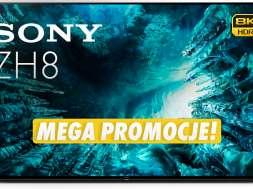 Sony LCD Z8K 8K HDR telewizor promocja