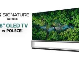 LG 8K OLED ZX telewizor 2020 88 cali