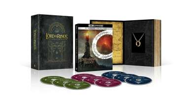 Władca Pierścieni 4K UHD Blu-ray trylogia